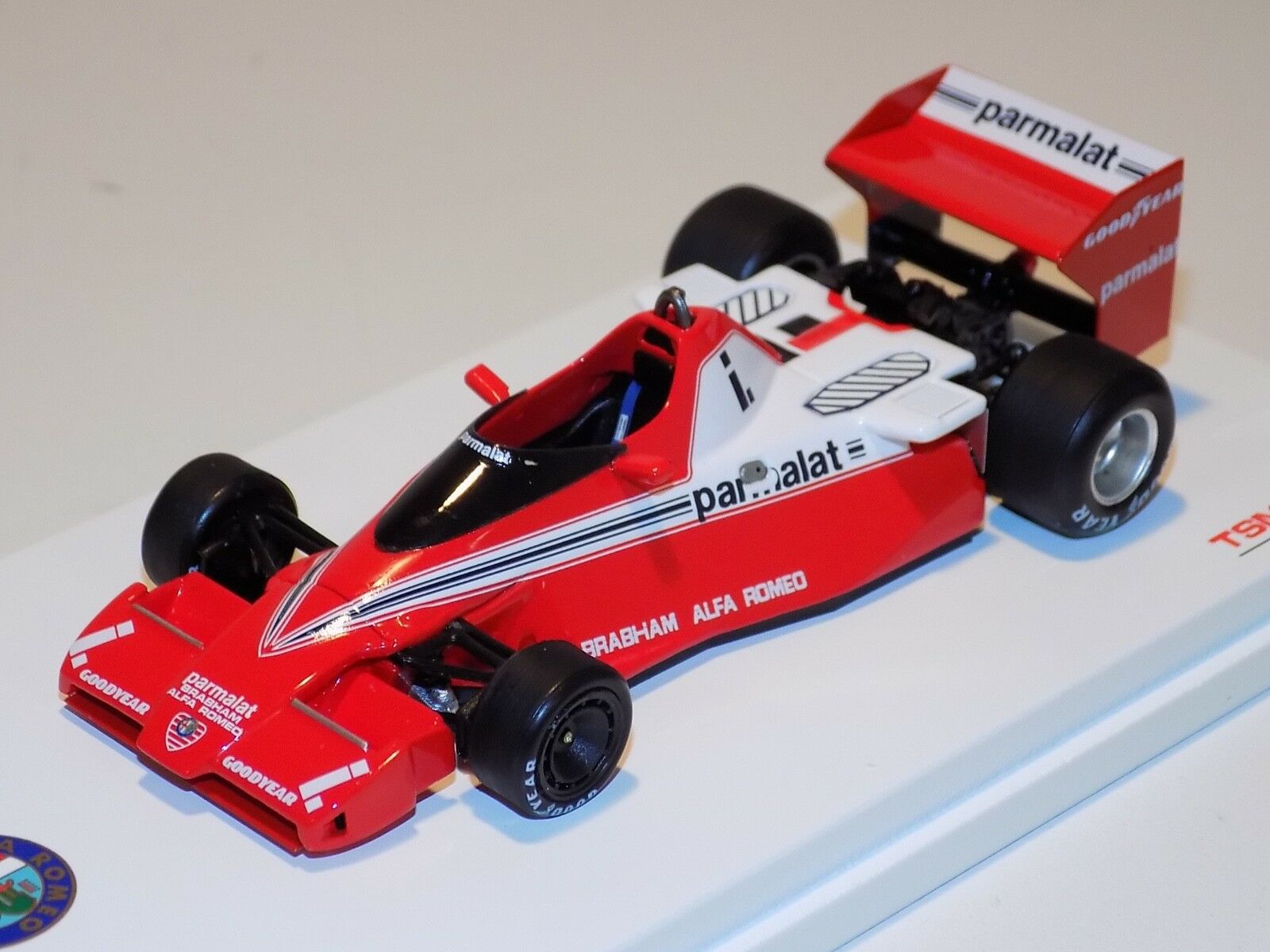 1 43 TRUE SCALE MODELS TSM F1 Alfa Romeo BT46 1978 South African GP TSM144301