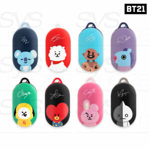 BTS BT21 Official Authentic Goods Buds Case By Case Gallery + Tracking Number