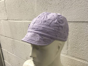 CHILD-039-S-COTTON-SUN-HAT-4-8-YEARS-LILAC-NEW-1-6