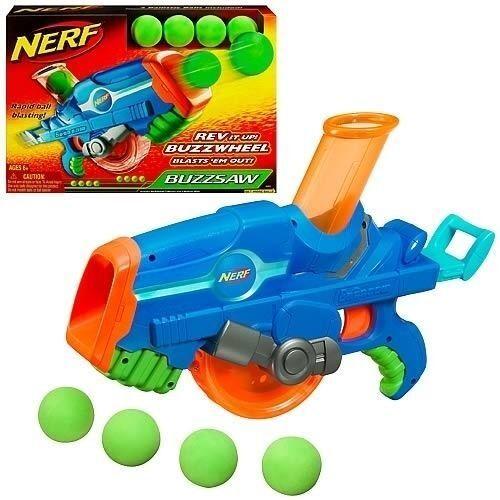 Nueva Marca Nerf N-strike Buzzsaw Bola Blaster