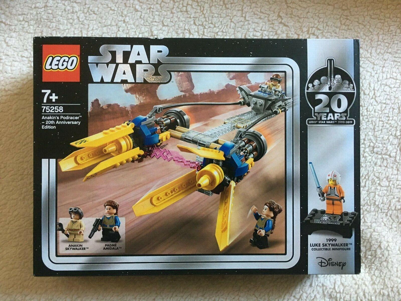 LEGO ® 20 Jahre Star Wars 75258 75243 Slave I Podracer