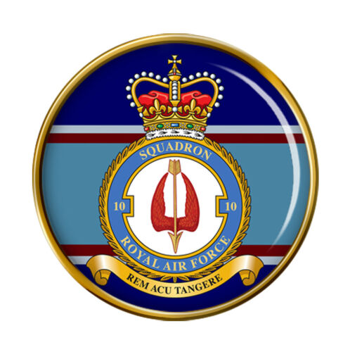 Escuadrón 10 Insignia Pin RAF