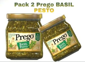 Prego Pasta Sauce Basil Pesto Sauce 8 Ounce Jar Pack 2 Ebay
