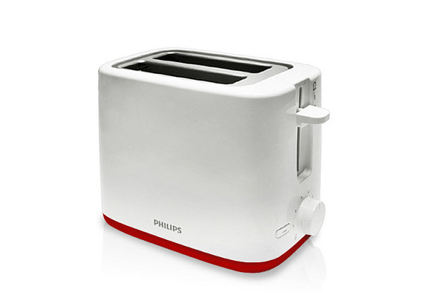 Philips Daily Collection HD2595 49 Toaster Compact 2-slot design,reheat function
