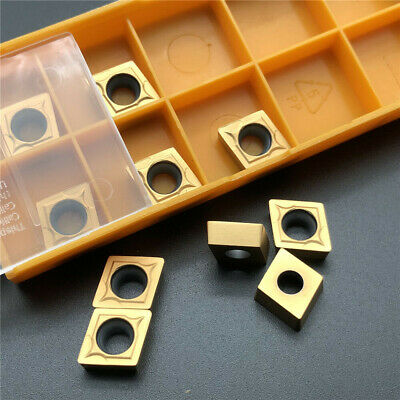 10Pcs CCMT09T308 CCMT32.52 US735 Insert Carbide Insert Milling Cutter FOR STEEL