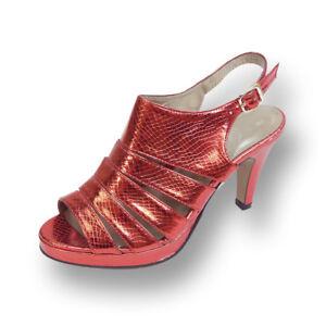 53d4bd64e0ad 👠 FLORAL Jules Women Wide Width High Heel Open Round Toe Platform ...