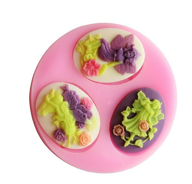 Multi-style Baby Flower  Silicone Mould for Polymer Clay Candy Chocolate Fondant