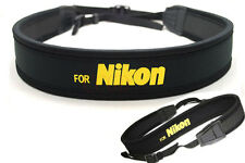 Camera Neck Shoulder Strap for Nikon D3100 D90 D5100 D800 D300S D7000 SLR DSLR
