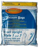 9 Allergy Bag For Bissell Vacuum Style 1 & 7 Samsung 3 Packs Of 3