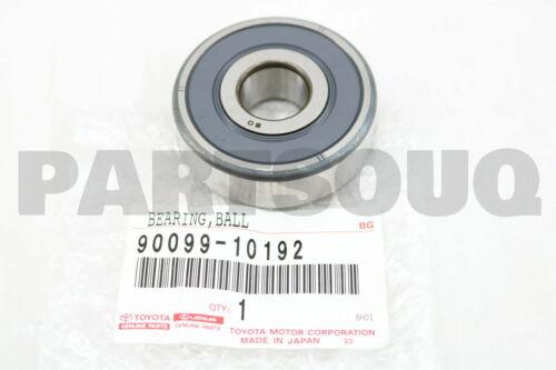 9009910192 Genuine Toyota BEARING FOR ALTERNATOR DRIVE END FRAME 90099-10192