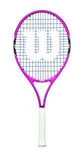 Wilson Burn Pink 25 Raquette De Tennis Pour Enfants Junior Racket-afficher Le Titre D'origine