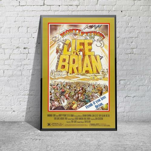 Vintage Monty Python Life Of Brian Movie Film  Print Poster Picture A3 A4 Retro