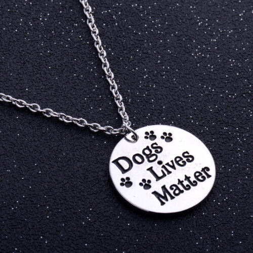 Silver Necklace Bracelet Dog Paw Print Pendant Memorial Jewelry Pet Lover Gifts