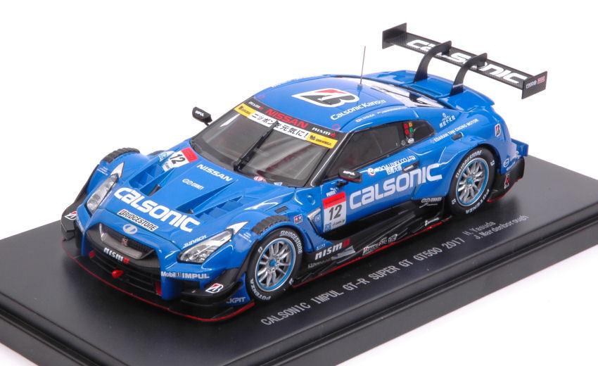 NISSAN GT-R  12 5th Fuji SUPER gt500 2017 H. Yoshihiro J. Mardenborough 1 43