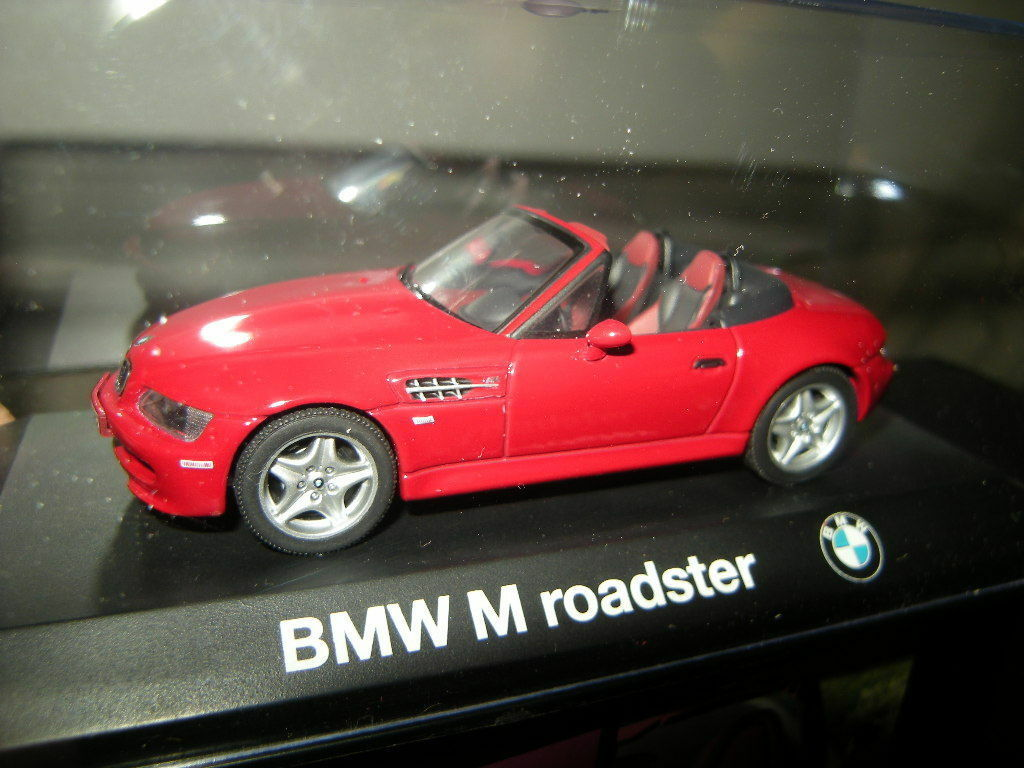 1 43 Minichamps BMW M Roadster rot rot Nr. 80429421473 OVP
