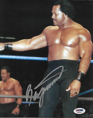 Ron Simmons Signed WWE 8x10 Photo PSA//DNA COA FSU Football Picture Autograph WCW