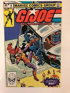 G-I-Joe-A-Real-American-Hero-9-Marvel-Comics-Mar-1983-VF-NM-9-0