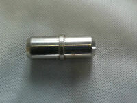 Connector,for Tube, Welding, 22+mm Insert With 25mm Rib, Solid Stainless, 1184