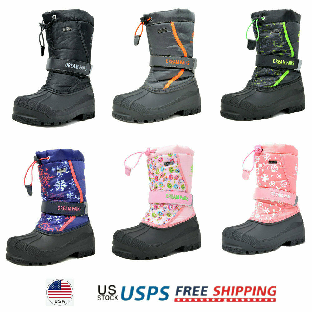 CIOR Fantiny Boy and Girls' Winter Snow BOOTS Outdoor Wate 1 M US Little  Kid for sale online   eBay