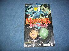 1989 Monster Spitballs Frankenstein & Dracula by LJN Toys