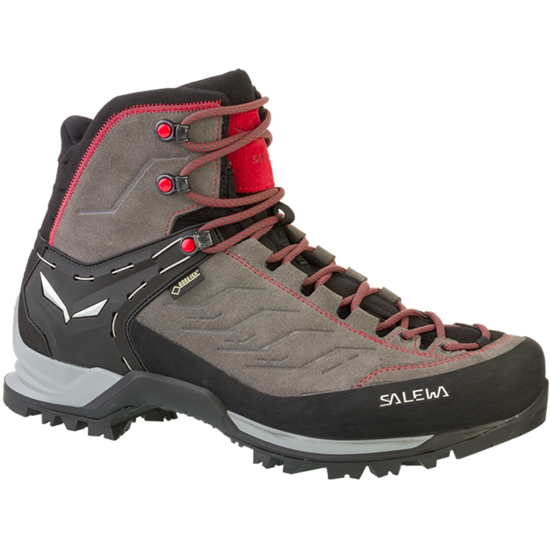 Salewa MTN TRAINER MID GTX grey red-42