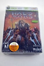 Halo Wars Limited Edition (Xbox 360, 2009) French Brand New Factory Sealed!