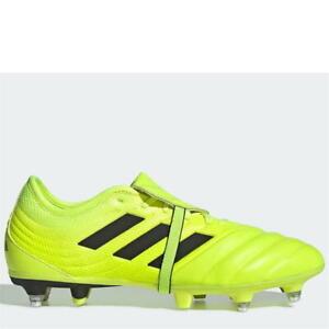 Adidas Copa GLORO 19.2 Homme SG Chaussures De Football JAUNE Noir Taille UK 9 EU 43