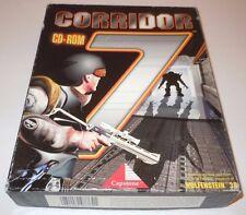 Corridor 7 Alien Invasion Big Box Complete PC IBM Vintage 1994 Wolfenstein 3D CD