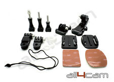 GRAB BAG OF MOUNTS si adatta GOPRO HD HERO 1 2 3 3+ 4 accessori della fotocamera