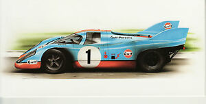 Gulf Porsche 917 Dugan art  motoring Long Greeting Card Monza Sebring 1971 - <span itemprop=availableAtOrFrom>Newcastle under lyme, Staffordshire, United Kingdom</span> - Returns accepted Most purchases from business sellers are protected by the Consumer Contract Regulations 2013 which give you the right to cancel the purchase w - Newcastle under lyme, Staffordshire, United Kingdom