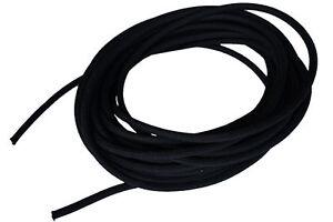 "USA 1/2"" x 10' Bungee Cord Shock Cord Bungie Cord Marine Grade Stretch Cord BLK"
