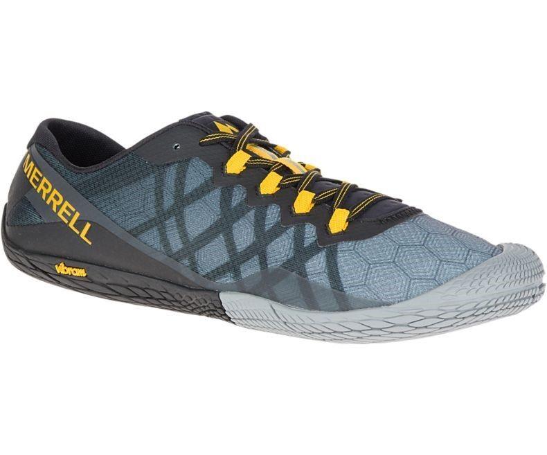 Merrell Barefoot Vapor Glove 3 Men  dark dark  Grau bc4d28