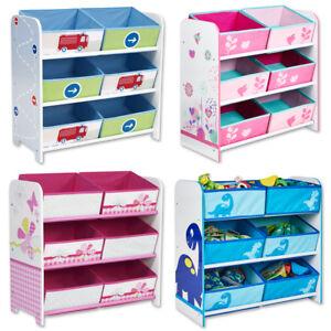 Kindermöbel regal  Kinderregal Spielzeugkiste Aufbewahrungsregal Kindermöbel Regal ...