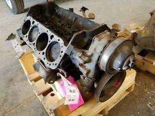 CORE SHORT BLOCK ENGINE 8-350 5.7L 4-BOLT FITS 1989 CHEVROLET 1500 350477