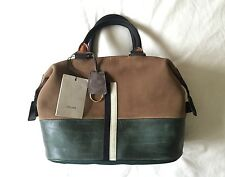 CELINE Racer Stripe Boston Bag Borsa in pelle Céline Handbag Nuova BNWT RRP £ 1395