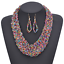 Women-Chunky-Fashion-Crystal-Bib-Collar-Choker-Chain-Pendant-Statement-Necklace thumbnail 15