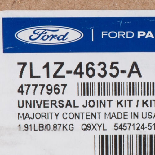 OEM NEW Rear Axle Universal Joint U-Joint Ford Lincoln Mercury 7L1Z-4635-A