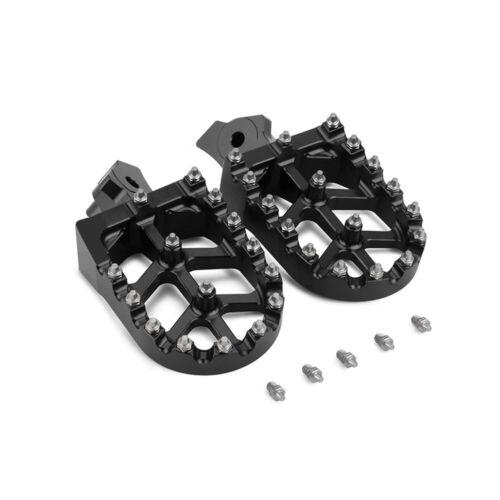 CNC Foot Pegs Pedals Rests Footpegs Honda XR50R XR70R CRF100F Kawasaki KL//KLR650