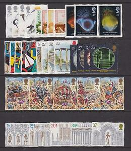 GB-1989-Commemorative-Stamps-Year-Set-Unmounted-Mint-UK-Seller