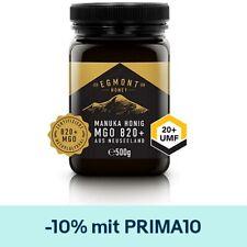 Manuka Honig Egmont Honey 820+ MGO UMF 20+ 500g Original aus Neuseeland