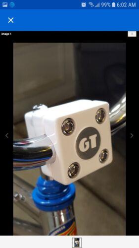 GT BMX coin decals for repop stem. Five 5