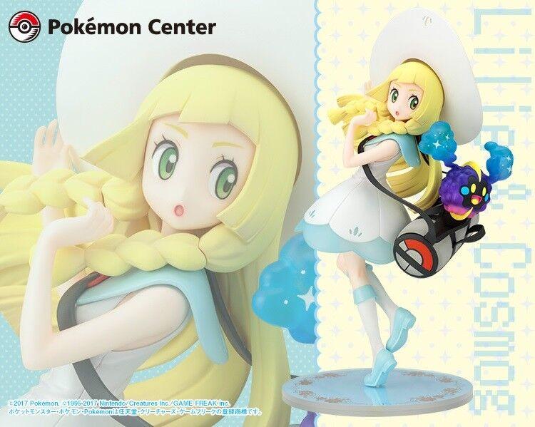 Ouvert POKEMON figure Lillie et Cosmog 1 8 Japanese Pokemon Center Kotobukiya
