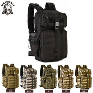 35L-Molle-Outdoor-Military-Tactical-Bag-Camping-Hiking-Trekking-Backpack-US