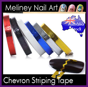 Chevron-Striping-tape-Nail-Art-Lines-Manicure-Stickers-decoration-Wave
