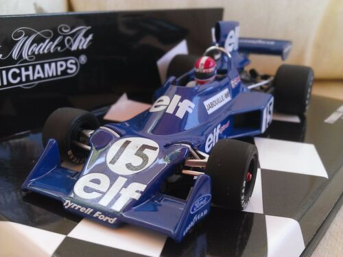 #15 Tyrrell Ford 007 Jabouille 1975 Diecast Model F1 Car 143 Minichamps