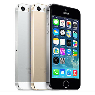 Apple iPhone 5S 16GB 32GB 64GB Unlocked Smartphone Gold Grey & Silver - Grade A
