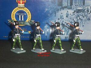 Britains 40334 Collectors Club Royal Scots Fusiliers Set Escorte Soldat Jouet