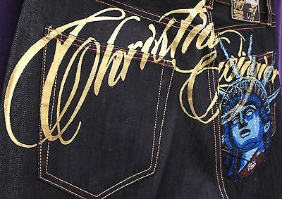 NEW MEN AUTHENTIC CHRISTIAN AUDIGIER JEANS SIZE 38 UP TO 44