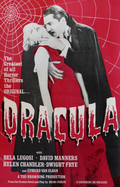 """DRACULA"" ..Bela Lugosi.. Vintage 1931 Vampire Horror Movie Poster A1A2A3A4Size"