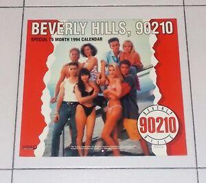 Calendario 1994 BEVERLY HILLS 90210 official Calendar 16 mesi 1993/94 Danilo